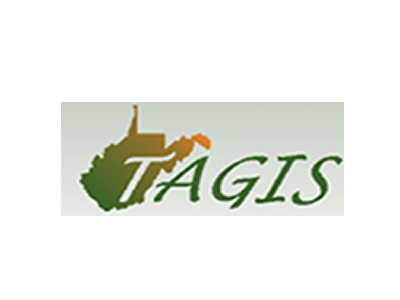 TAGIS in green lettering