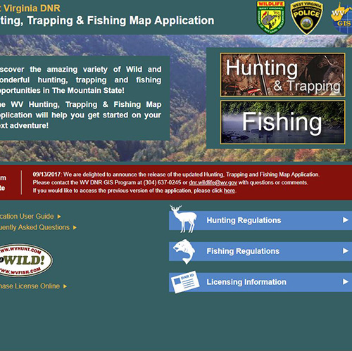 Image of DRN Hunting and Fishing Website