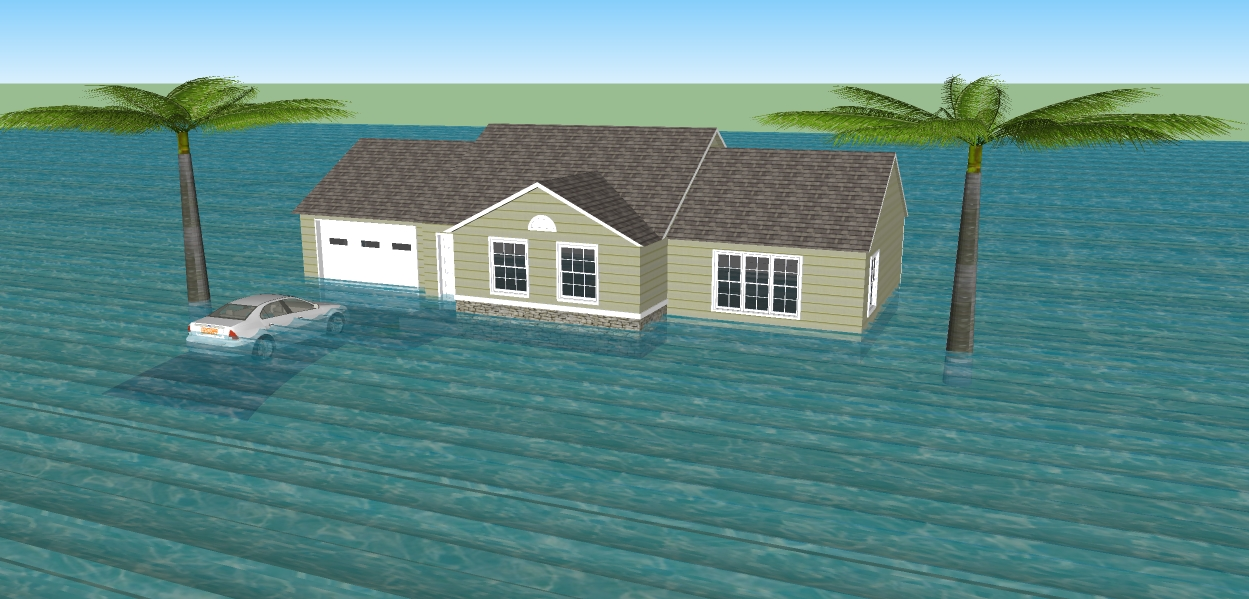 Image result for knoxville flooded zone