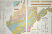 Geological Map of West Virginia